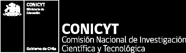 CONICYT: Comisión Nacional de Investigación Científica y Tecnológica - Ministerio de Educación - Gobierno de Chile