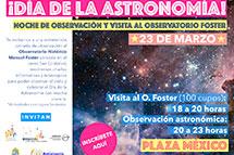 Día de la Astronomía 2018 en Parque Metropolitano
