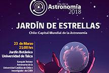 Jardín de estrellas – Charla y observación astronómica