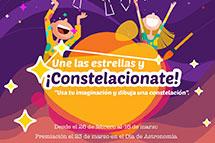 """Concurso: """"Une las estrellas y ¡Constelacionate!"""""""